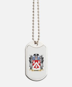 Byrne Coat of Arms - Family Crest Dog Tags