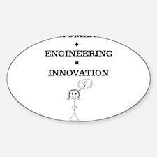 Women + Engineering Decal