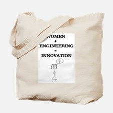 Women + Engineering Tote Bag