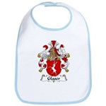 Glaser Family Crest Bib