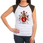 Glaser Family Crest Women's Cap Sleeve T-Shirt