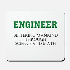 Bettering Mankind Mousepad