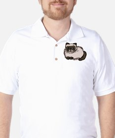 Himalayn Cat Lover Golf Shirt