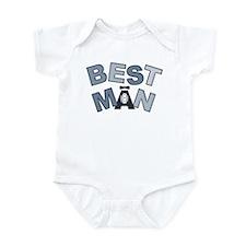 BP Letters Best Man Infant Bodysuit