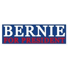 Bernie For President Bumper Bumper Sticker