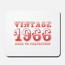 VINTAGE 1966 aged to perfection-red 400 Mousepad