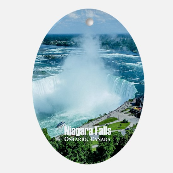 Niagara Falls Ornament (Oval)