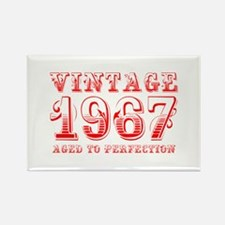 VINTAGE 1967 aged to perfection-red 400 Magnets