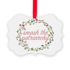 Smash the Patriarchy Ornament