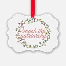 Smash the Patriarchy Ornament