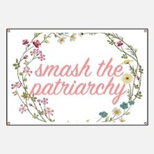 Smash the Patriarchy Banner