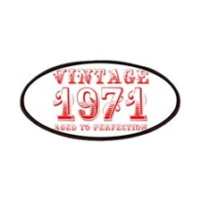 VINTAGE 1971 aged to perfection-red 400 Patch