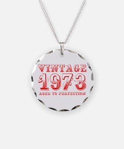 VINTAGE 1973 aged to perfection-red 400 Necklace