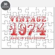 VINTAGE 1974 aged to perfection-red 400 Puzzle