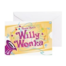 Charlieandthechocolatefactory Greeting Card