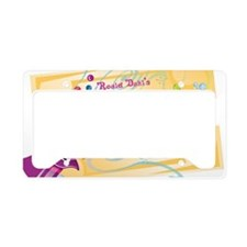 Charlieandthechocolatefactory License Plate Holder