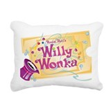 Willy wonka Canvas Pillows