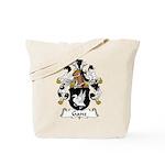Ganz Family Crest  Tote Bag