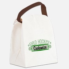Field Hockey Canvas Lunch Bag