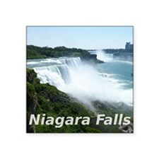 "Niagara Falls Square Sticker 3"" x 3"""