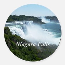 Niagara Falls Round Car Magnet