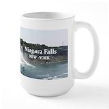 Niagara falls souvenir Large Mugs (15 oz)