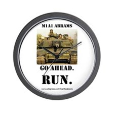 M1A1 Abrams Wall Clock