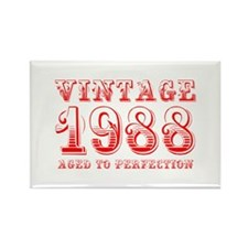 VINTAGE 1988 aged to perfection-red 400 Magnets