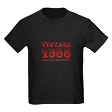 VINTAGE 1988 aged to perfection-red 400 T-Shirt