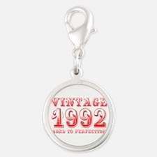 VINTAGE 1992 aged to perfection-red 400 Charms
