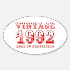 VINTAGE 1992 aged to perfection-red 400 Decal