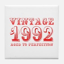 VINTAGE 1992 aged to perfection-red 400 Tile Coast