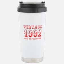 VINTAGE 1992 aged to perfection-red 400 Travel Mug