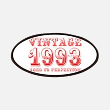 VINTAGE 1993 aged to perfection-red 400 Patch