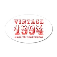 VINTAGE 1994 aged to perfection-red 400 Wall Decal