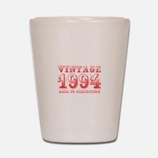 VINTAGE 1994 aged to perfection-red 400 Shot Glass