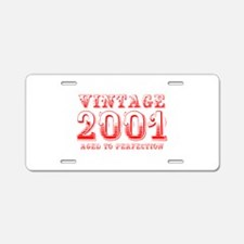 VINTAGE 2001 aged to perfection-red 400 Aluminum L