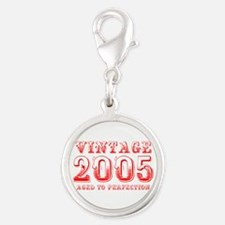 VINTAGE 2005 aged to perfection-red 400 Charms