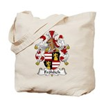 Frolich Family Crest  Tote Bag