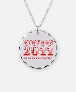 VINTAGE 2011 aged to perfection-red 400 Necklace