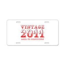 VINTAGE 2011 aged to perfection-red 400 Aluminum L