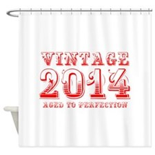 VINTAGE 2014 aged to perfection-red 400 Shower Cur
