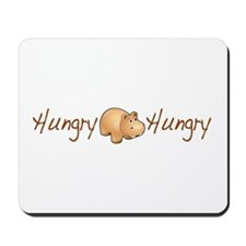 The Hungry Hippo Mousepad