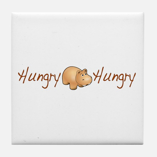 The Hungry Hippo Tile Coaster