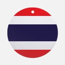 Flag of Thailand Ornament (Round)