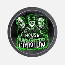 House of Monsters Wall Clock