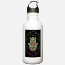 Hamsa Hand Amulet Psyc Water Bottle