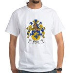 Fries Family Crest White T-Shirt