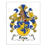 Fries Family Crest  Small Poster