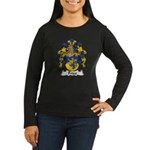 Fries Family Crest  Women's Long Sleeve Dark T-Shi